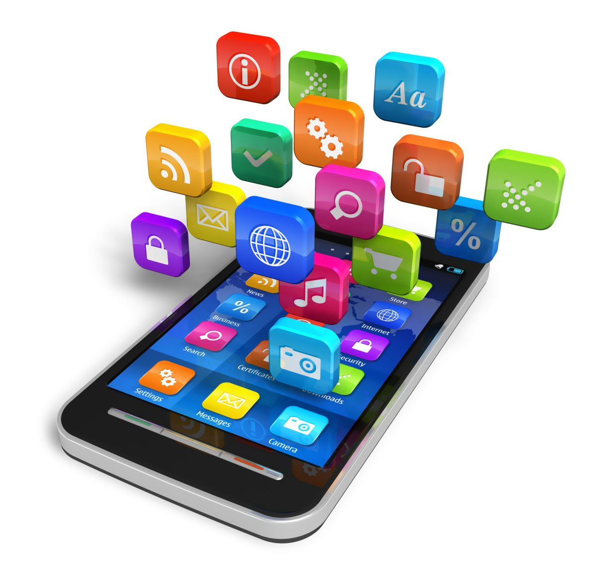 Aplikácia pre Android a iPhone